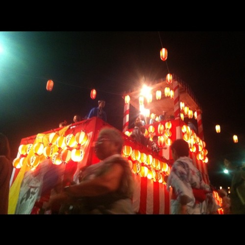 Bon Dance at Dake Onsen / Fukushima