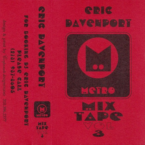 Eric Davenport Metro Mix Tape Vol 3 Side A