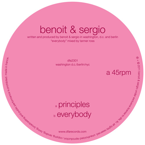 Benoit & Sergio - Principles / Everybody