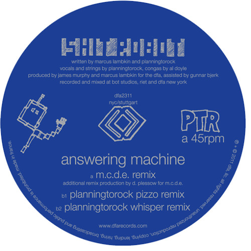 Shit Robot - Answering Machine (M.C.D.E. Remix)