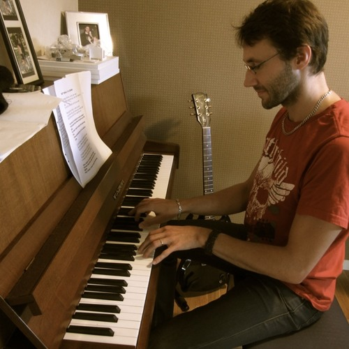 Once upon a day - solo piano.