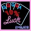10% Luck