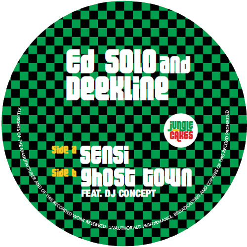 Ed Solo & Deekline - Ghost Town feat. DJ Concept (Jungle Cakes #008)