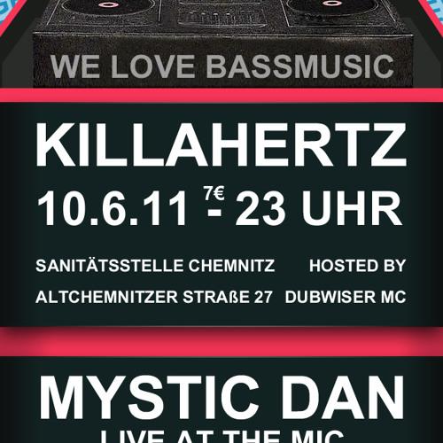 D.I.S & DUBWISER MC  & Mystic Dan@ Killa Hertz pt.17 Warm Up! pt.2