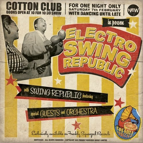 Swing Republic - DRUM BOOGIE (CD bonus track) - & now Download too