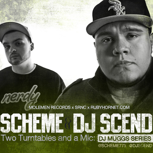 Scheme and DJ Scend - Two Turntables and a Mic : DJ Muggs Series