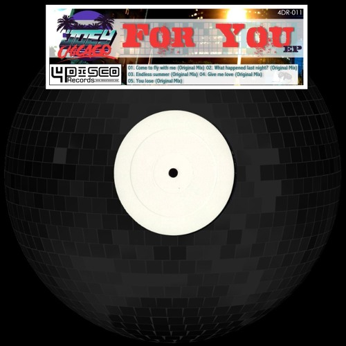 For you EP Minimix (out NOW on 4Disco Records)