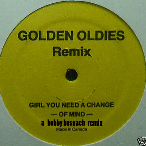 EDDIE KENDRICKS -GIRL YOU NEED A CHANGE OF MIND -THE BOBBY BUSNACH 1980 CUT&SPLICE BOOTLEG EDIT-9.01
