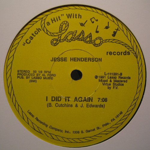 Jesse Henderson - I Did It Again (How_Beezar Edit) [from H_B archives]