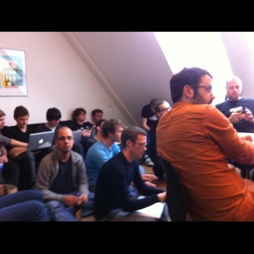 SoundCloud HQ 'all hands' at SoundCloud HQ