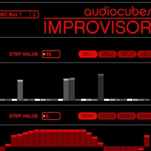 Music Composition using AudioCubes, IMPROVISOR, and FL Studio 10 harmor (demo 10)