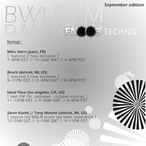 Ideal Flow Mix | BWLR FM Detroit ||