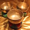 Tibetan Singing Bowls - Heart Chakra Healing Triad