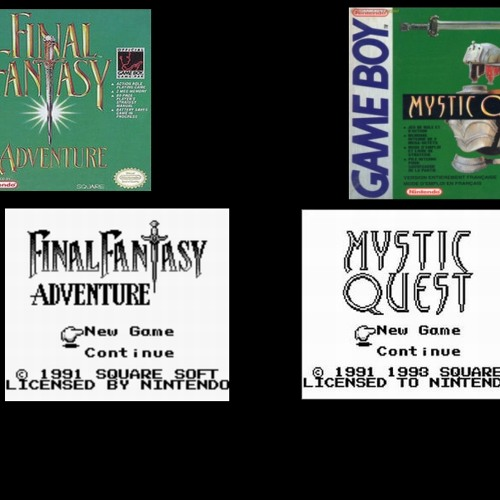 Final Fantasy Adventure - Mystic Quest (Gameboy Remix-SarahKreuz)