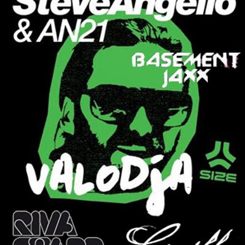 Steve Angello & An21, Riva Star, Butch, Basement Jaxx - Where's Valodja Worries (Dani Veiga Bootleg)