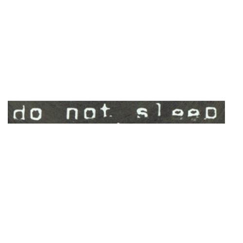 DO NOT SLEEP /// DARK MINIMAL /// TECHNO