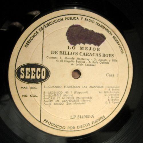 Billo's Caracas Boys - Casi te muerto