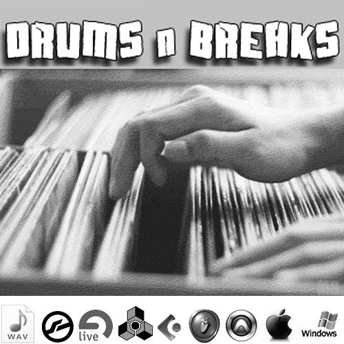 DigginG Vinyl Drums & Breaks breakbeat breabeats hip hop