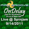 OnDelay (aka DJ Synthetic) at Spinjam 9/14/2011