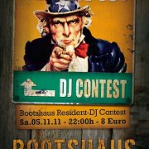 """Bootshaus Contest """"We Want You"""" Dj George Thomson"""