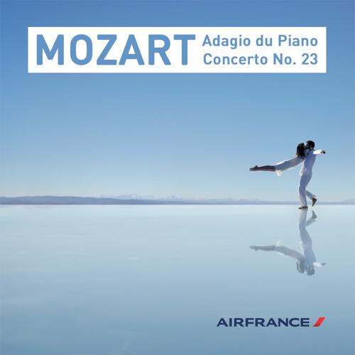Vanessa Wagner & Les Siècles - Mozart's Piano Concerto No. 23, K.488  II. Adagio (Arandel remix)