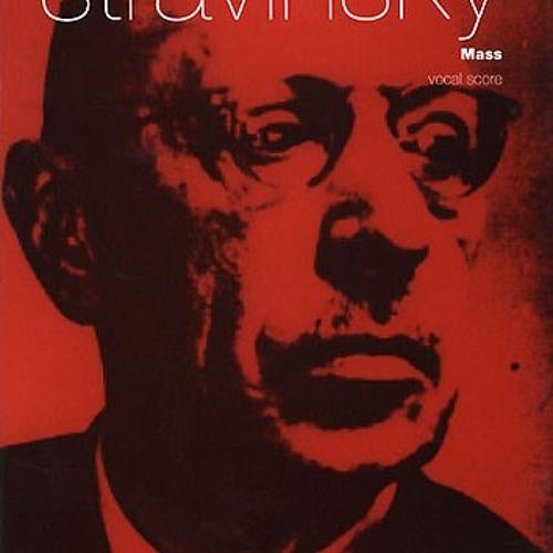 Stravinsky, I. - Mass (Sanctus)