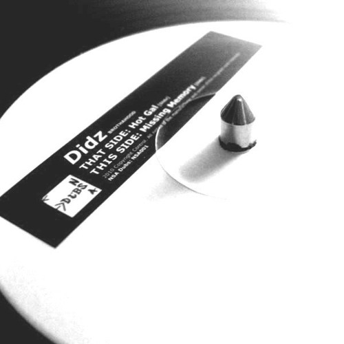 """Hot Gal/Missing Memory NSA DUBS 001 (out now on 12"""")"""