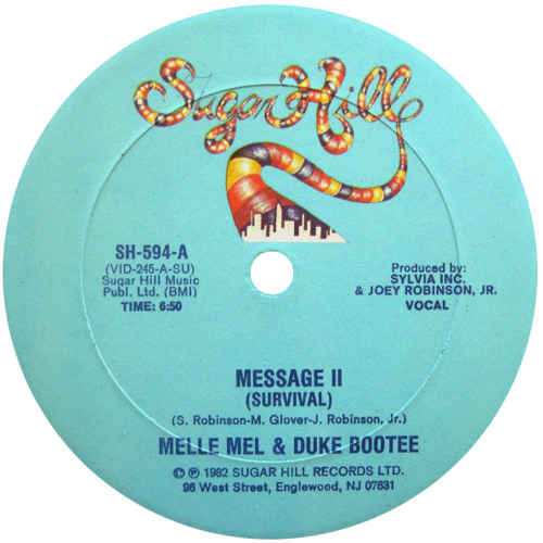 Melle Mel - Message II Survival (Jolly Mare radio edit)