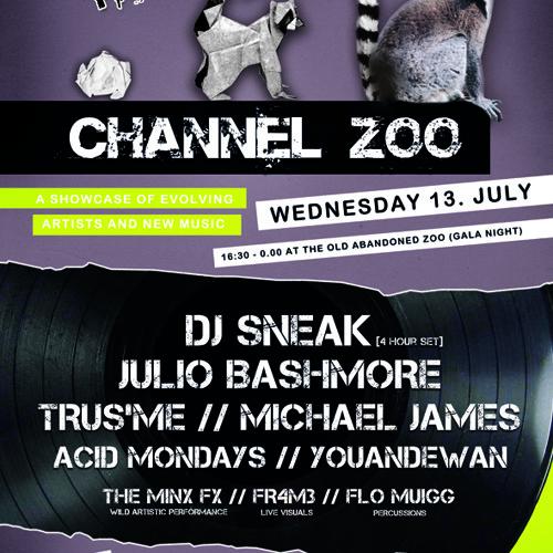 DJ Sneak & Acid Mondays Back 2 Back @ Channel Zoo 13th July 2011 (Vinyl Only)