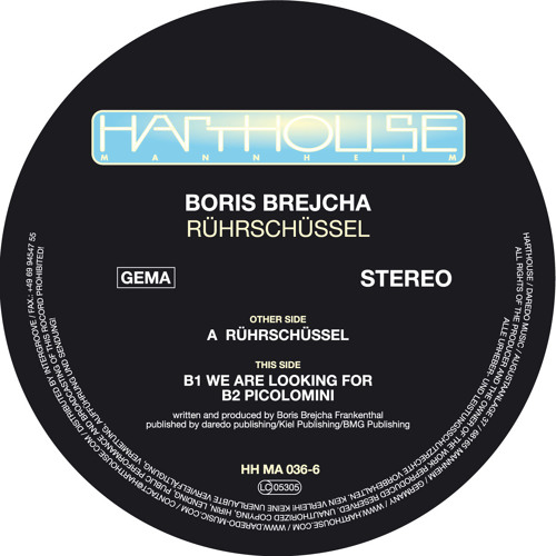 Rührschüssel - Boris Brejcha (Original Mix) Harthouse 2011 - Preview