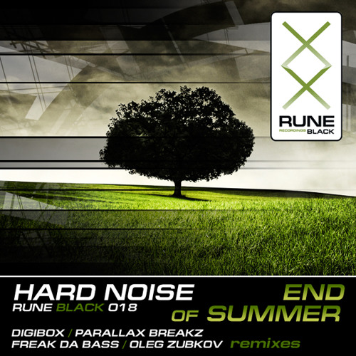 RUNE018BLACK: HardNoise - End of Summer (Digibox Remix) [PREVIEW]