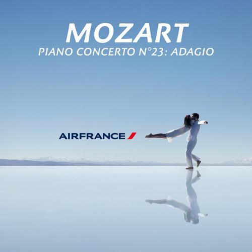 03 Mozart - Concerto pour piano No. 23 en La Majeur, K.488  II. Adagio (Air France Edit)