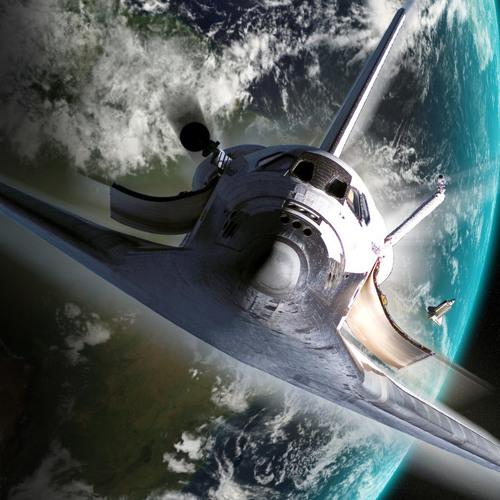Dark Wizard Sander - Aliens and Space Shuttles