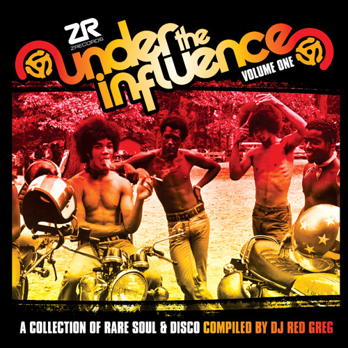Under The Influence Vol.1 compiled by DJ Red Greg - Sampler