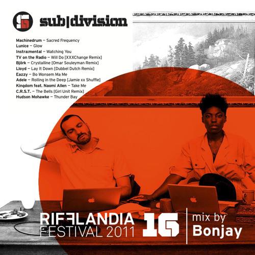 sub|div Rifflandia podcast mixed by Bonjay