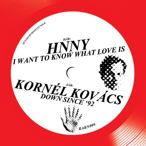 Kornél Kovács - Down Since '92 (Studio Barnhus, BARN 006)