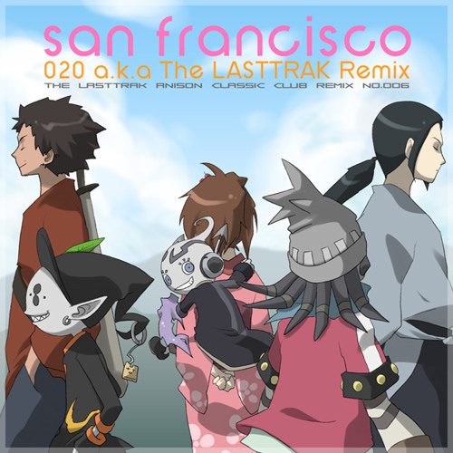 【初CD化!】サムライチャンプルー Samrai Champloo 「MIDICRONICA/san Francisco(The LASTTRAK Remix)