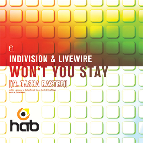 Indivision & Livewire (feat. Tasha Baxter) - Won't You Stay