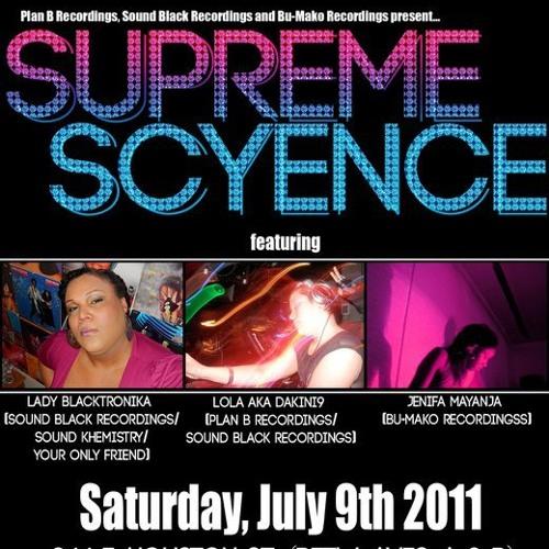 Lola (Dakini9) live at Supreme Scyence