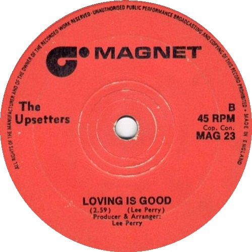 The Upsetters-Loving Is Good