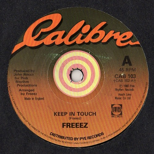 Freeez - keep in touch