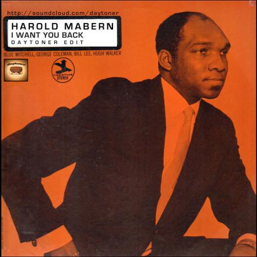 Harold Mabern - I Want You Back (Daytoner Edit)