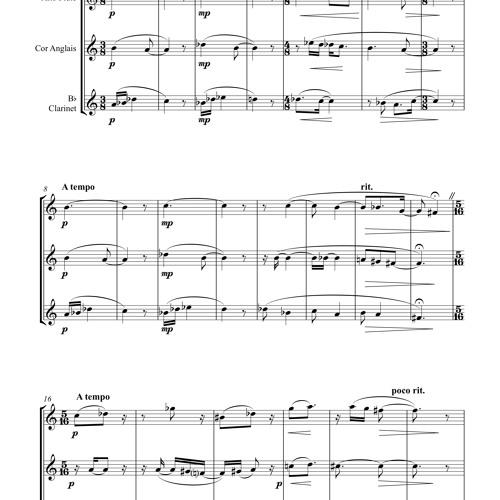 Woodwind Trio, Opus 2