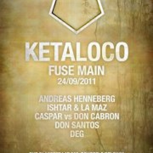 Andreas Henneberg at FUSE Club Brussels - Ketaloco