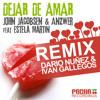 John Jacobsen & Anzwer feat. Estela - Dejar de Amar -- (Dario Nuñez & Segio Gallegos remix) (1) Portada del disco
