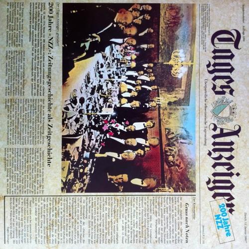 200 Jahre NZZ Schallplatte Tages-Anzeiger 1980