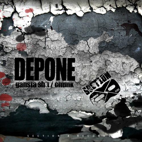 Depone - Gangsta Shit [SECTION8DUB035D]