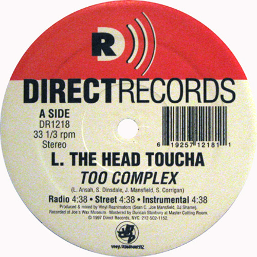L The Head Toucha /Too Complex (1997) -clean ver