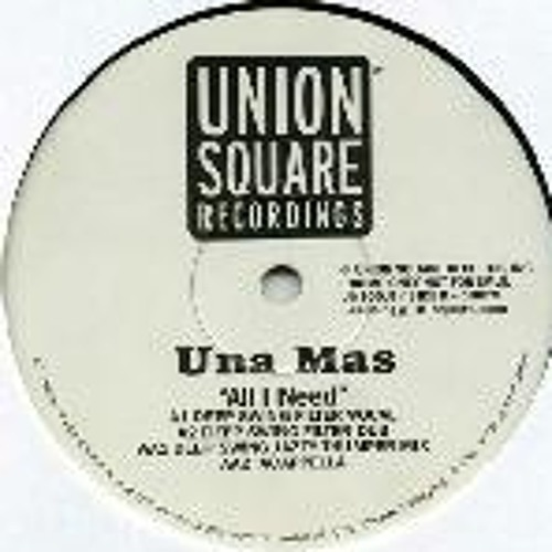 Una Mas - All I Need (Damgroove Remix)