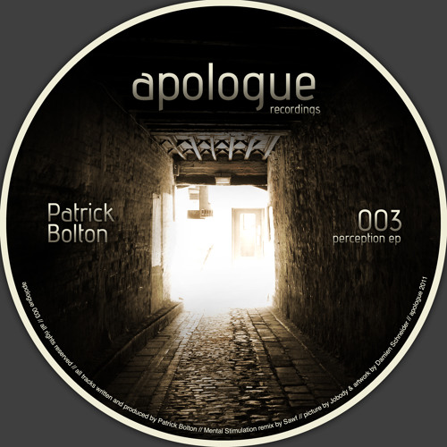 Patrick Bolton - Half Cut (preview)